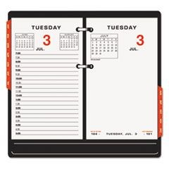 Two-Color Desk Calendar Refill, 3 1/2 x 6, 2016