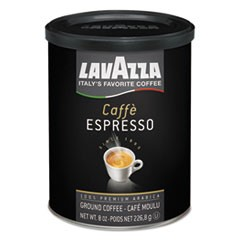 Caffe Espresso Ground Coffee, Medium Roast, 8 oz Can
