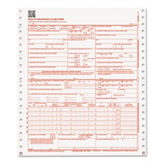 CMS Forms, 2 Part Continuous White/Canary, 9 1/2 x 11, 1000 Forms