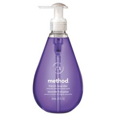 Gel Hand Wash, French Lavender, 12 oz Pump Bottle