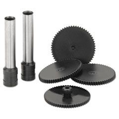 Replacement Punch Kit for Extra High-Capacity Two-Hole Punch, 9/32 Diameter