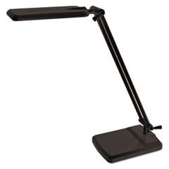 5W LED Desk Task Lamp, 7-1/2w x 14-3/4h, Black