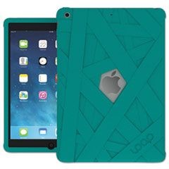 iPad Mummy Case for iPad Air, Silicone, Teal