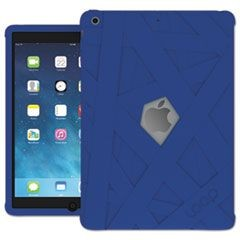 iPad Mummy Case for iPad Air, Silicone, Blue