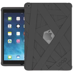 iPad Mummy Case for iPad Air, Silicone, Graphite