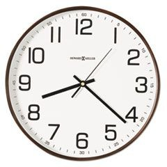 "Kenton Wall Clock, 13"", Espresso"