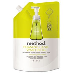 Foaming Hand Wash Refill, 28 oz Pouch, Lemon Mint
