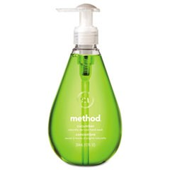 Gel Hand Wash, Cucumber, 12 oz Pump Bottle