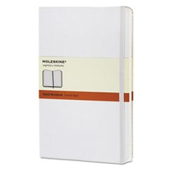 Ruled Classic Notebook, 5 x 8 1/4, White Cover, 240 Sheets