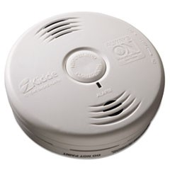 "Bedroom Smoke Alarm w/Voice Alarm, Lithium Battery, 5.22""Dia x 1.6""Depth"