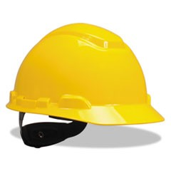 H-700 Series Hard Hat with Four Point Ratchet Suspension, Yellow