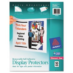 Top-Load Display Sheet Protectors, Letter, 10/Pack