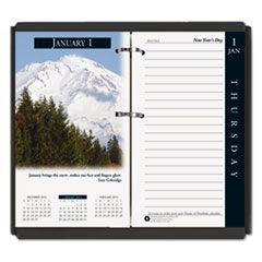 Earthscapes Desk Calendar Refill, 31/2 x 6, 2016