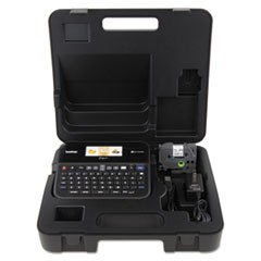 PTD600VP PC-Connectable Label Maker with Color Display and Carry Case