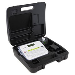 PTD400VP Versatile Label Maker with AC Adapter and Carrying Case, White