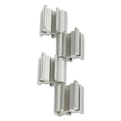 Rumba� Whiteboard Screen Accessories, Ganging Connector Set, Silver