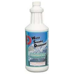 Water-Soluble Deodorant, Mountain Air, 32oz, 12/Carton