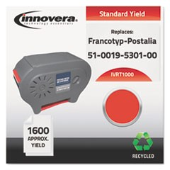 Remanufactured 51-0019-5301-00 (T-1000) Postage Meter Ink, Red