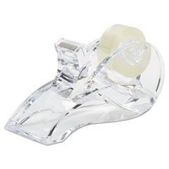 "Stratus Acrylic Tape Dispenser, Up to 3/4"" Wide and 27.7 yds Long, Clear"
