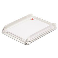 Stratus Acrylic Document Tray, Letter, Clear