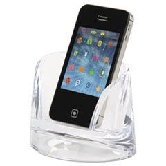 Stratus Acrylic Mobile Phone Holder, Clear