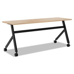 Multipurpose Table Fixed Base Table, 72w x 24d x 29 3/8h, Wheat