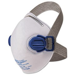 R10 Particulate Respirator, N95, White w/Gray Straps