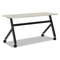 Multipurpose Table Fixed Base Table, 60w x 24d x 29 3/8h, Light Gray