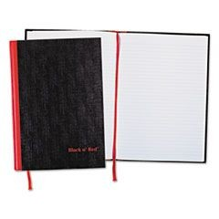 Casebound Notebook Plus Pack, Ruled, 8 1/4 x 11 3/4, 96 Sheets, 2/Pack