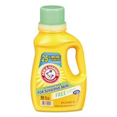 HE Compatible Liquid Detergent, Unscented, 50 oz Bottle