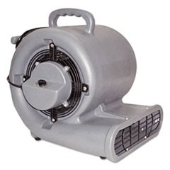 1Air Mover, 3-Speed, 1/2hp, 1150rpm, 1500cfm