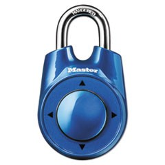 "Speed Dial Set-Your-Own Combination Lock, 2"" Wide, Assorted"
