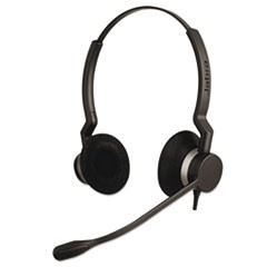 QD Binaural Over-the-Head Corded Headset