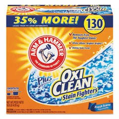 Power of OxiClean Powder Detergent, Fresh, 9.92 lb Box, 3/Carton