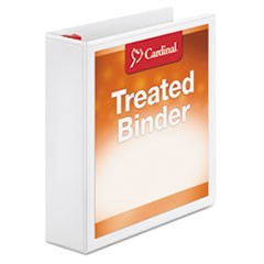 Treated Binder ClearVue Locking Slant-D Ring Binder, 2