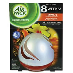 Aroma Sphere Air Freshener, Hawaii, 2.5 oz, 3 per Carton