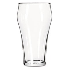 Bell Soda Glasses, 21 oz, Clear, 36/Carton