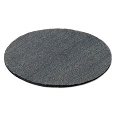 "Radial Steel Wool Pads, Grade 0 (fine): Cleaning & Polishing, 19"", Gray, 12/CT"