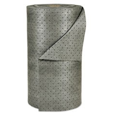 "MRO Plus Medium Sorbent-Pad Roll, 38gal, 30"" x 150ft, Gray"