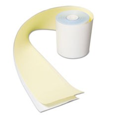 Register Roll, 3 in x 90 ft, 2 Ply, No Carbon, 30/Carton