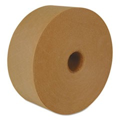 "Reinforced Water-Activated Tape, 2.83"" x 450', Natural, 10/Carton"