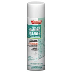 Instant Action Foaming Cleaner/Disinfectant, 17 oz, Aerosol Spray, 12/Carton