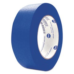 "UV Resistant Paper Masking Tape, 1.88"" x 60 Yards, Blue, 24/Carton"