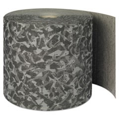 "Battlemat Heavy-Roll Sorbent Pads, 25gal, 15"" x 150ft, Industrial Camouflage"