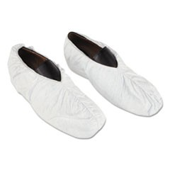 Tyvek Shoe Covers, White, One Size Fits All, 200/Carton