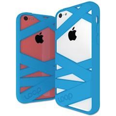 Mummy Case for iPhone 5C, Cyan