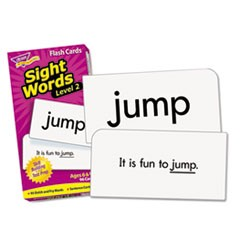 1Skill Drill Flash Cards, 3 x 6, Sight Words Set 2