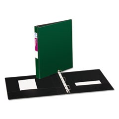 Durable Binder with Slant Rings, 11 x 8 1/2, 1