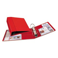 Heavy-Duty Binder with One Touch EZD Rings, 11 x 8 1/2, 4