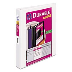 Durable View Binder w/Slant Rings, 11 x 8 1/2, 1